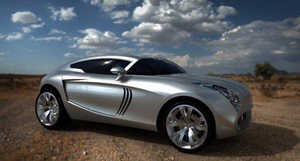 maserati kuba concept 2 Maserati Kuba CUV Concept