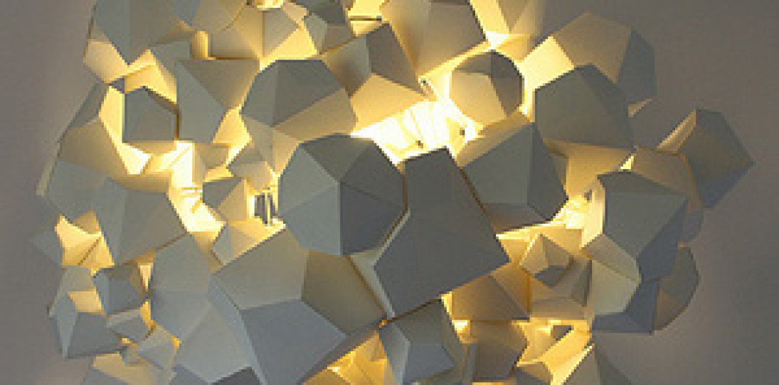 NaCl Pendant Light by James Patmore