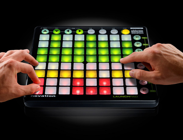 novation launchpad music control surface 1 Novation LaunchPad Music Control Surface