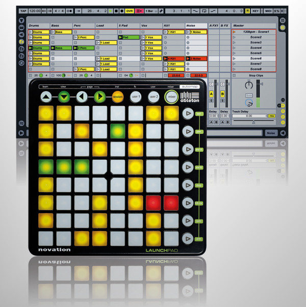 novation launchpad music control surface 2 Novation LaunchPad Music Control Surface