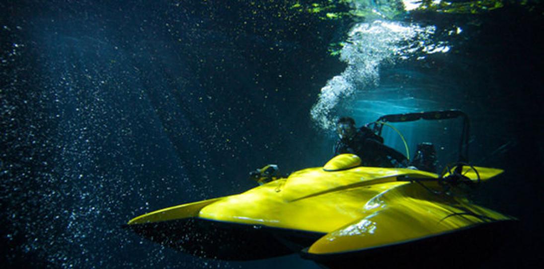 ScubaCraft Underwater Boat
