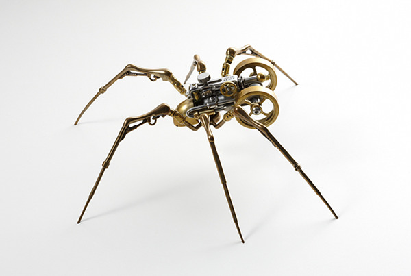 steam insect 2 by christopher conte 1 Steampunk Spiders by Christopher Conte