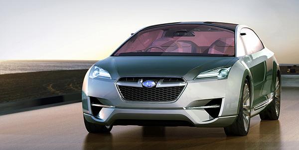 subaru hybrid tourer concept 1 Subaru Hybrid Tourer Concept