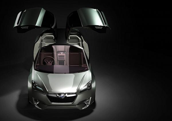 subaru hybrid tourer concept 6 Subaru Hybrid Tourer Concept