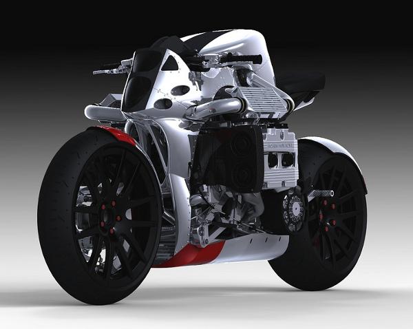 subaru kickboxer motorcycle concept 1 Subaru Kickboxer Motorcycle Concept