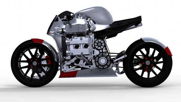subaru kickboxer motorcycle concept 2 Subaru Kickboxer Motorcycle Concept