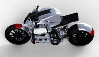 Subaru Kickboxer Motorcycle Concept