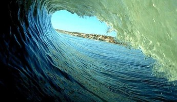 Wave Photography: Spiraling Surf