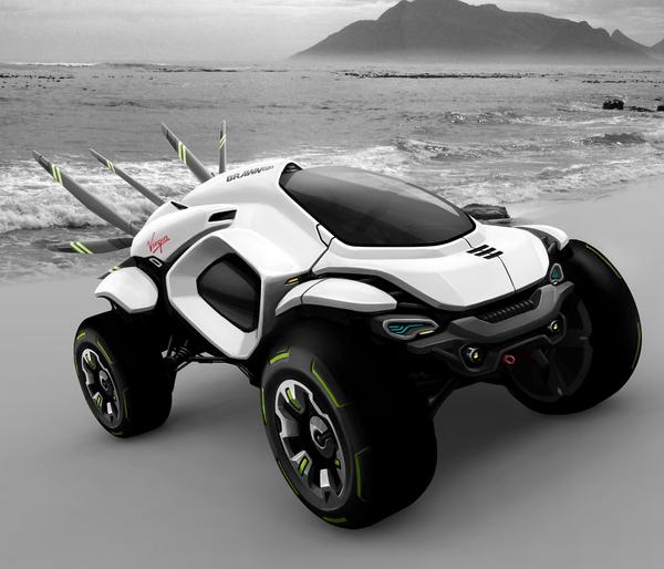 Husser Dakar Rally Concept 1 Hussar Dakar Rally Concept