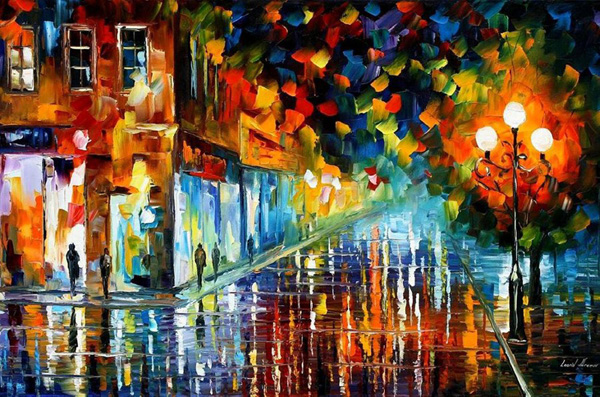 Leonid Afremov Art 1 The Artwork of Leonid Afremov