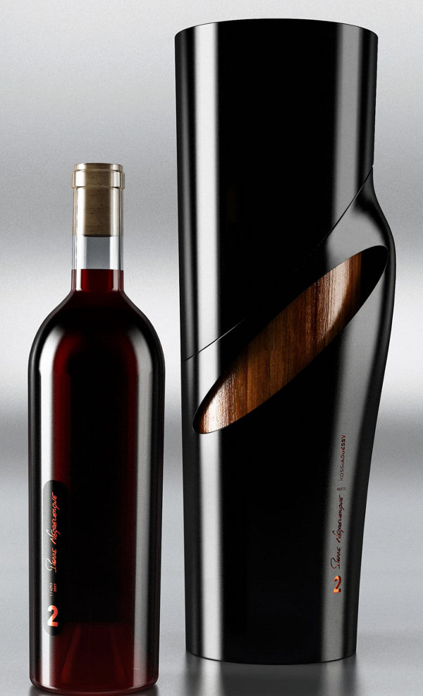 Pierre Negrevergne 2Wine Collection by Kossi Aguessy 4