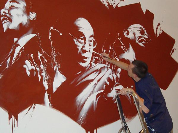 dan23 mural artwork 1 The Urban Mural Art of Dan23