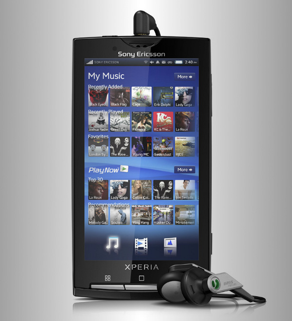 sony ericsson experia x10 6 Sony Ericsson Xperia X10: Android Powered