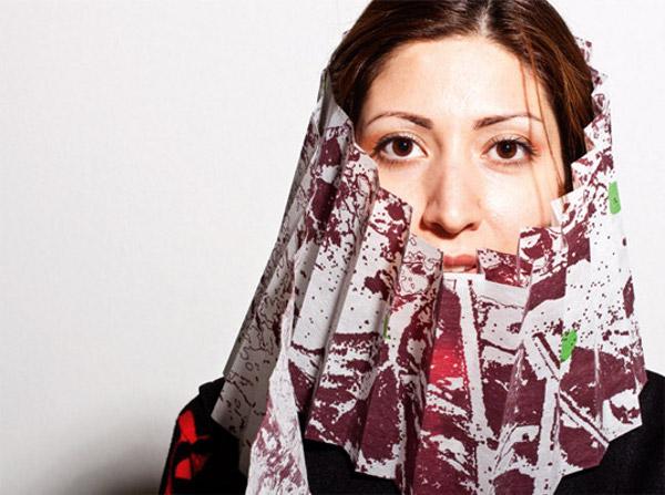thermachromic flu masks 2 Thermocromic Flu Masks by Marjan Kooroshnia