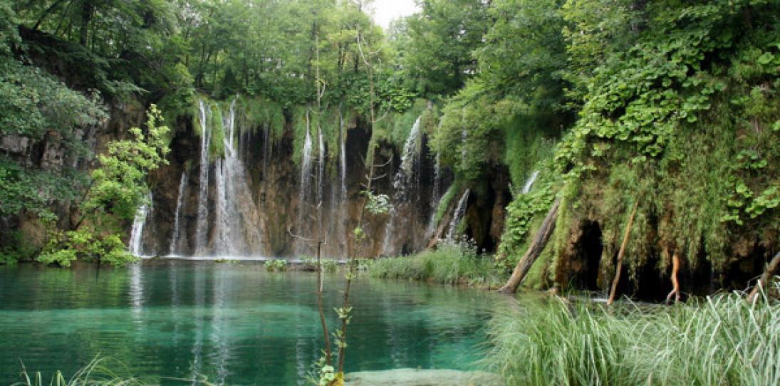 Plitvice Lakes National Park of Croatia