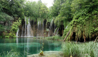 Plitvice Lakes National Park of Croatia