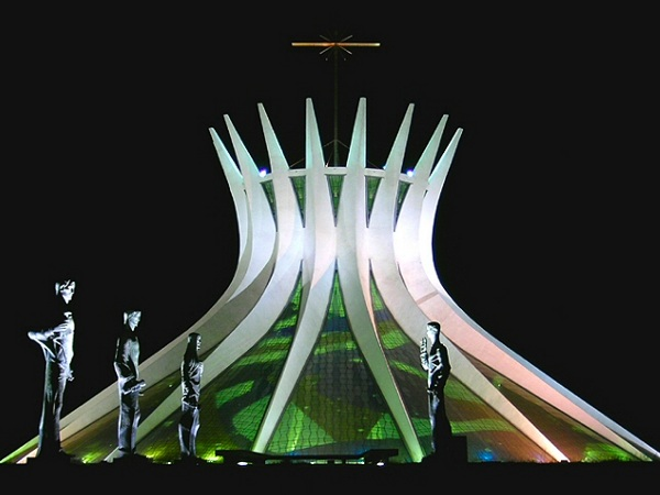 oscar niemeyer church Brazilian Architect Oscar Niemeyer Turns 102