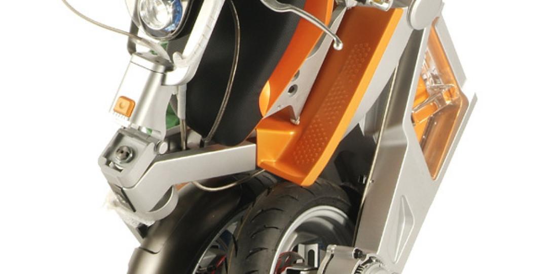 Folding Roboscooter by MIT Media Lab