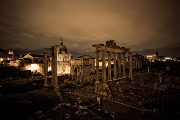 rome at night vince cianci 1 Rome at Night by Vince Cianci