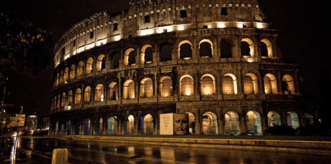 Rome at Night by Vince Cianci
