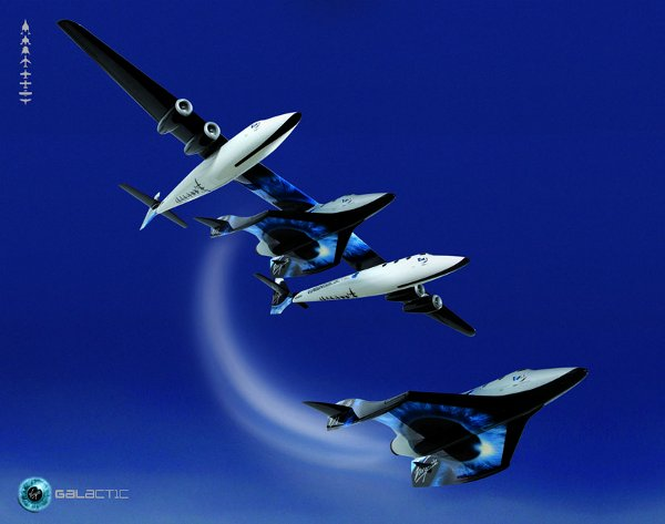 space ship two virgin galactic 2 SpaceShipTwo by Virgin Galactic: Officially Revealed