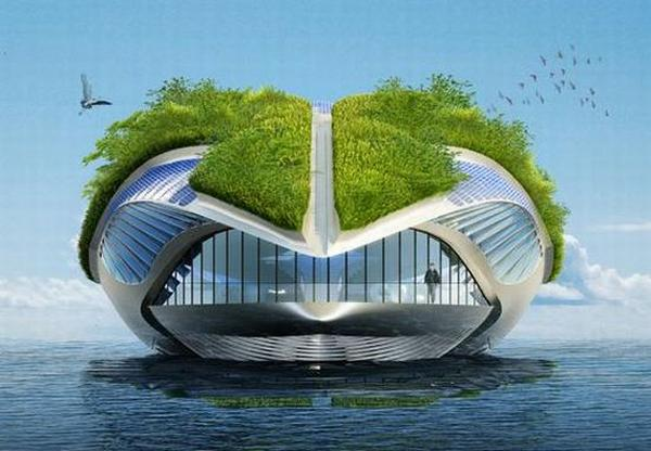 Physalia Amphibious Garden Boat