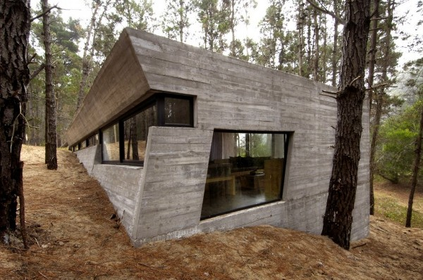 concrete house mar azul forest BAK architects 1 Concrete House in Mar Azul Forest, Argentina