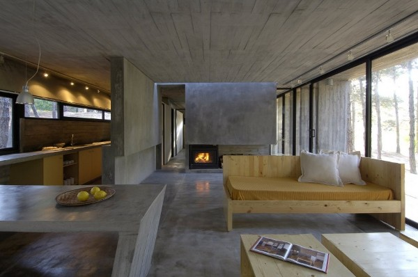 Concrete House in Mar Azul Forest