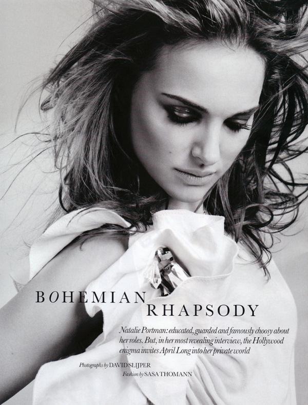 natalie portman elle uk february 2010 1 Natalie Portman in Elle Magazine UK