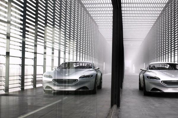 Peugeo SR1 Concept Car