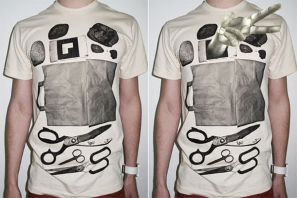 t post rock paper scissors tee 3 This Week on ThreadSpot: Kosi Kosi, T Post and Jean Paul Gaultier