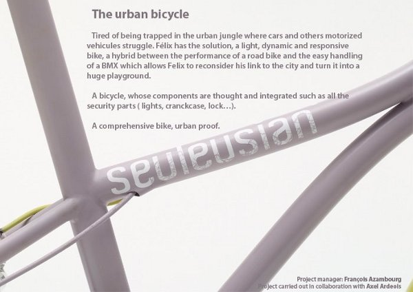 Felix Urban Bicycle Concept by Charles Seuleusian 5