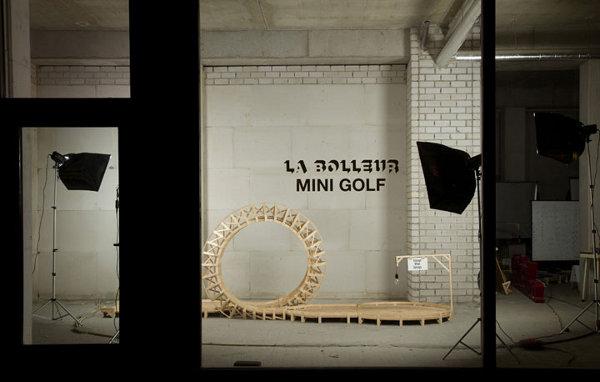 La Bolleur Mini Golf 1 Mini Golf as Art by La Bolleur