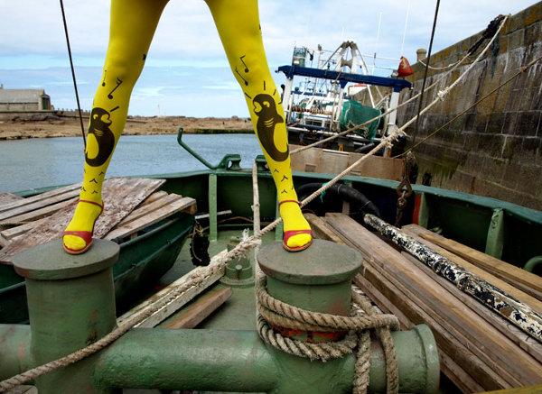 Le Queues de Sardines Stockings by M+0 Design Studio 1 Le Queues de Sardines Stockings by M+O Design
