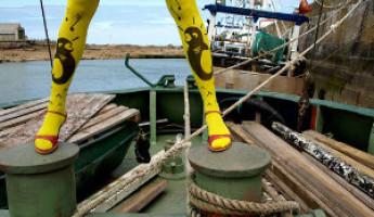 Le Queues de Sardines Stockings by M+O Design