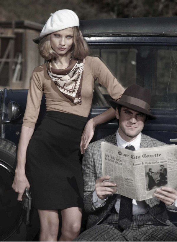 Bonnie and Clyde: Anna Selezneva and Wes Bentley