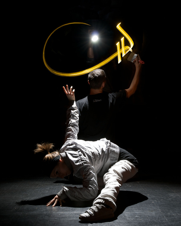 julien breton light calligraphy cortex compagnie 1 Light Calligraphy by Julien Breton