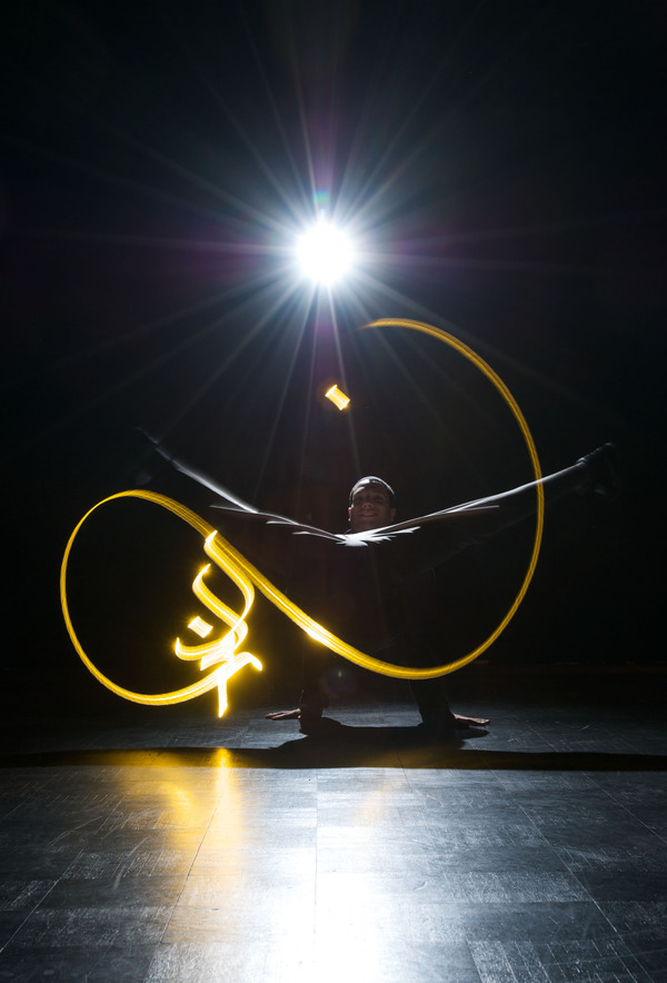 julien breton light calligraphy cortex compagnie 4 Light Calligraphy by Julien Breton
