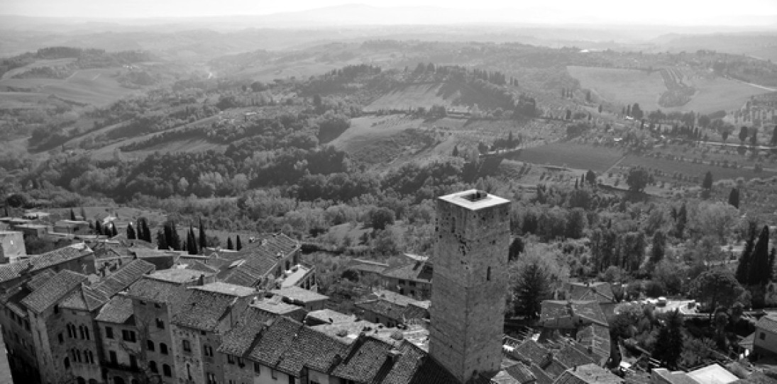 Toscana in Black and White by Weston Baker