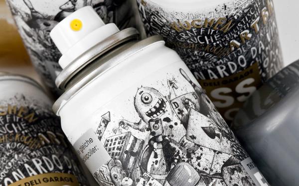 Esslack Gold Food Spray by Deli Garage and Korefe 3 Esslack Food Spray: Golden Culinary Goodness