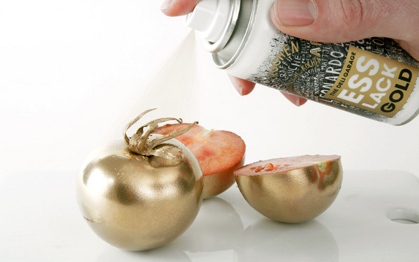 Esslack Gold Food Spray by Deli Garage and Korefe 6 Esslack Food Spray: Golden Culinary Goodness