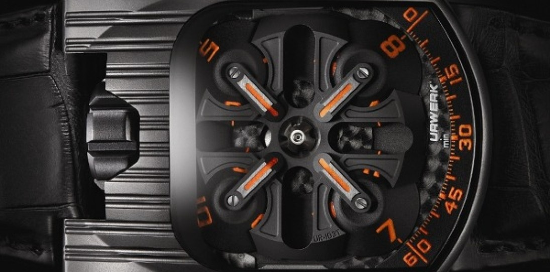 Urwerk 103 Tarantula Mexican Fireleg Watch