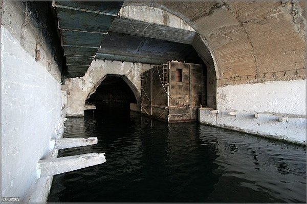 Abandoned Russian submarine base
