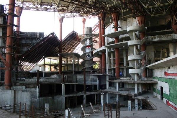 Abandoned Russian waterpark