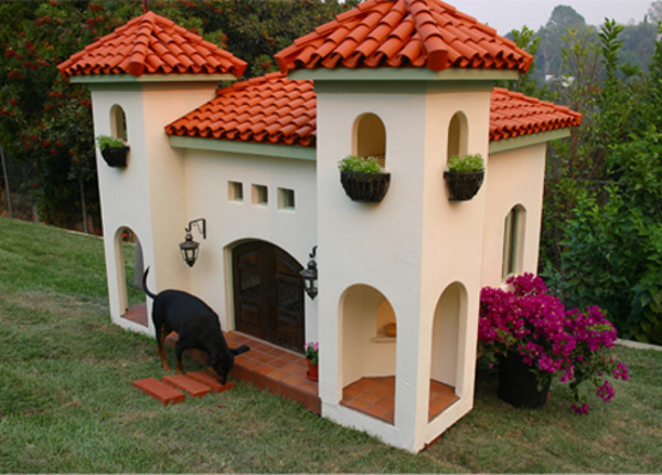 celebrity hacienda dog house Luxury Barkitecture: 10 Amazing Dog House Designs For The Over Pampered Pup
