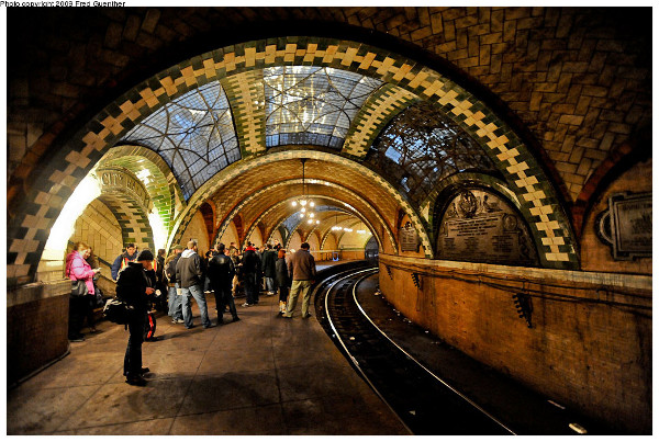 City Hall subway station in NYC