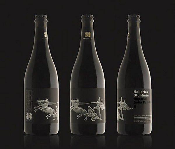 hallertau extra strength heroic beer Beautiful Beer: 10 Brilliant Beer Bottle Designs