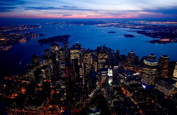 nyc at night jason hawkes 3 NYC At Night by Jason Hawkes