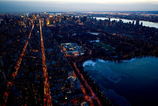 nyc at night jason hawkes 6 NYC At Night by Jason Hawkes