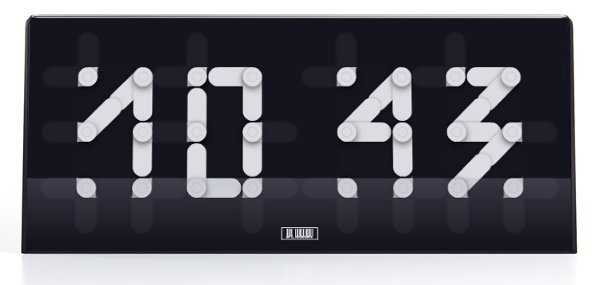 segmentus clock art lebedev studio 5 Segmentus Clock by Art Lebedev Studio